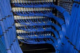 blue networking cable images